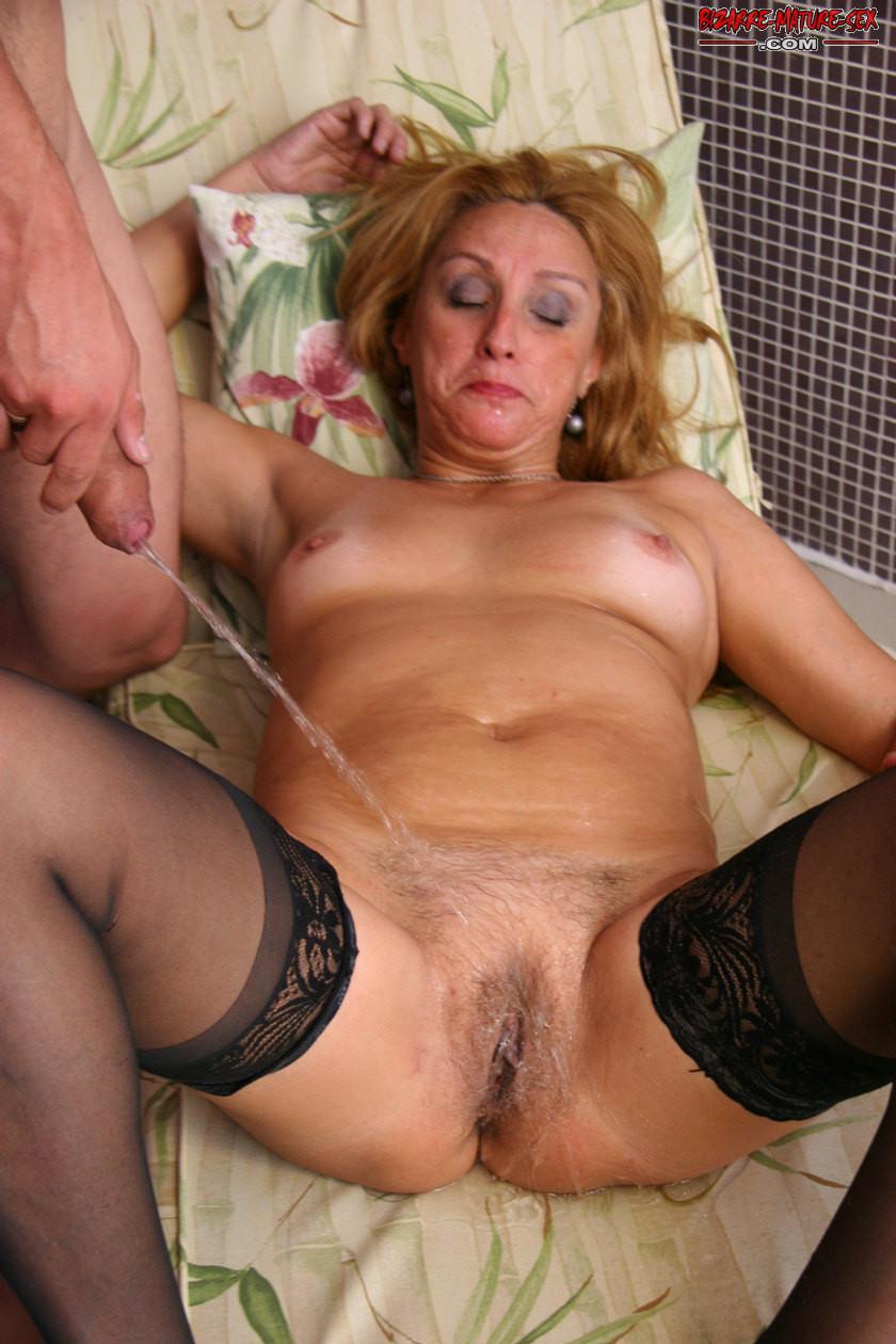 Pee pics mature Category:Bottomless women