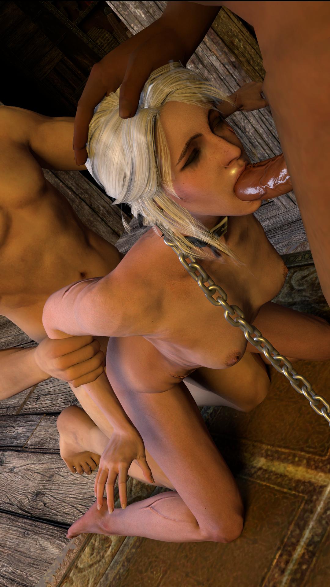 Ciri porn witcher the The dark